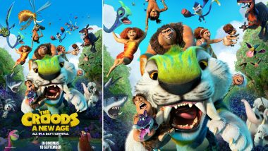 The Croods – A New Age: Emma Stone, Ryan Reynolds' Animated Movie Is All Set To Hit Cinemas on September 10!