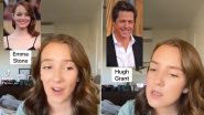 From Emma Stone to Hugh Grant, This TikToker's Impersonation of Hollywood Celebs Meeting a Dog Is Winning Hearts on Twitter!