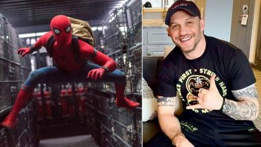 Tom Hardy Sports Production Hat of Spider-Man: No Way Home, Sparks Rumours of His Cameo As Venom in Tom Holland Film