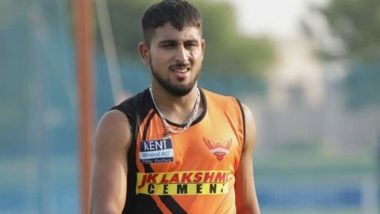 IPL 2021: Umran Malik Brought in as Short-Term Replacement for T Natarajan By Sunrisers Hyderabad