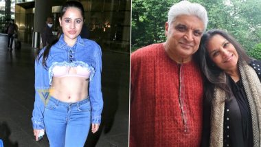 Urfi Javed Says She Was 'Laughing' When Called Javed Akhtar-Shabana Azmi's Granddaughter by Trolls (LatestLY Exclusive)
