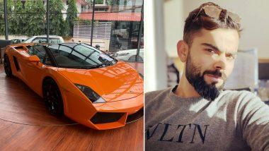 Virat Kohli's Formerly-Owned Lamborghini Gallardo Spyder Up for Sale in Kochi at Rs 1.35 Crore