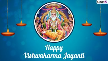 Happy Vishwakarma Puja 2021 Greetings: WhatsApp Messages, HD Images, Wallpapers, Quotes and Facebook Messages To Send on Vishwakarma Jayanti