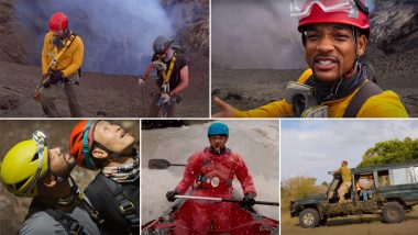 Welcome to Earth Trailer: Will Smith's Journey Around the World Is Visually Stunning in the Disney+ Original Series From National Geographic (Watch Video)
