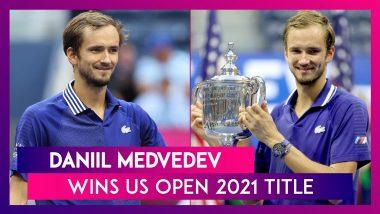 US Open 2021: Daniil Medvedev Stuns Novak Djokovic With Straight-Set Win for Maiden Grand Slam Title