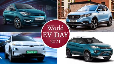 World EV Day 2021: Top 4 Electric Four-Wheelers That You Can Buy in India