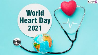 World Heart Day 2021 Date & Theme: Know History and Significance of The Day Raising Awareness About cardiovascular diseases and Importance of Healthy Heart