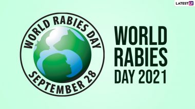 World Rabies Day 2021: How to Protect Yourself From the Fatal but Preventable Viral Disease? Everything You Need to Know About The Virus Transmitted Through Animal Bite