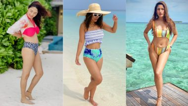 World Tourism Day 2021: From Disha Parmar to Hina Khan, 6 Times TV Actresses Flaunted Their Hot Bikini Bods on Maldives Vacay!