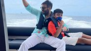 Ajay Devgn Shares a Happy Picture With Son Yug From Their Maldives Time!