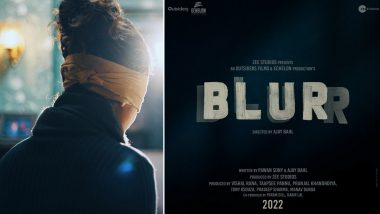 Blurr: Taapsee Pannu Announces Wrap of Her Debut Production; Shares Still of Her Character in Blindfold