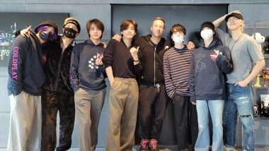 BTS Teases Fans by Sharing a Picture With Coldplay's Chris Martin Weeks Before the Release of Their Song 'My Universe'
