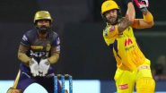 How To Watch CSK vs KKR IPL 2021 Live Streaming Online in India? Get Free Live Telecast of Chennai Super Kings vs Kolkata Knight Riders VIVO Indian Premier League 14 Cricket Match Score Updates on TV