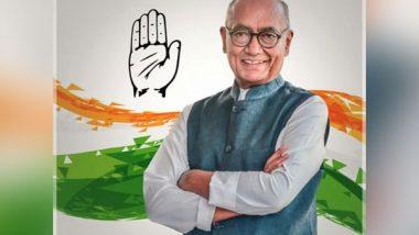 India News   Digvijaya Singh Lashes out at BJP, RSS