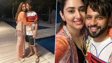 Rahul Vaidya Receives Heartwarming Birthday Wish From Wifey Disha Parmar (See Pics)