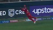 Fabian Allen Catch Video: Watch West Indies Cricketer Take a Stunner During PBKS vs RR IPL 2021