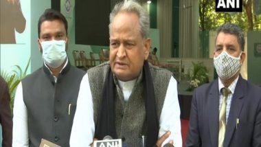 Punjab Congress Crisis: Rajasthan CM Ashok Gehlot Says 'Hope Amarinder Singh Won't Hurt Party's Interests'