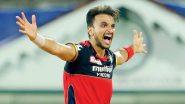 RCB vs MI, IPL 2021 Stat Highlights: Harshal Patel Ushers RCB Close to Playoffs, Rattles Mumbai Indians With a Hat-Trick