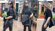 Mouni Roy Exudes Sheer Glamour As She Dons an All-Black Ensemble! Have a Look at Actress' New Dazzling Style to Get Inspiration