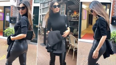 Mouni Roy Exudes Sheer Glamour When She Dons an All-Black Ensemble! Have a Look at Actress' New Dazzling Style to Get Inspiration
