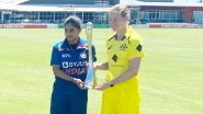 India Women vs Australia Women, 1st ODI 2021 Live Cricket Streaming: Get Telecast Details of IND W vs AUS W on Sony Sports Network and SonyLiv Online
