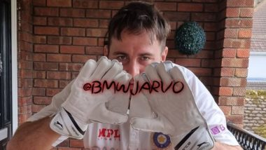 Jarvo 69 Was Planning to 'Take Field' As 'Wicketkeeper' for the Cancelled India vs England Manchester Test