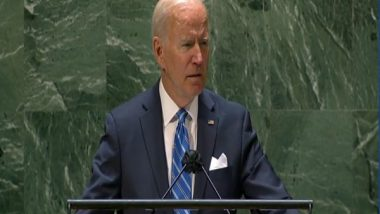United States Is Not Seeking A New Cold War, Says Joe Biden At 76th Meeting of UNGA