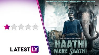 Haathi Mere Saathi Movie Review: Rana Daggubati's Well-Intentioned Film Is Betrayed By An Outdated Concept And Poor Execution (LatestLY Exclusive)