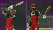 Devdutt Padikkal, Virat Kohli Score Half-Centuries During RCB vs CSK IPL 2021 Match in Sharjah