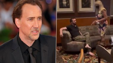 Nicolas Cage Thrown Out of LA Bar After Getting 'Completely Drunk and Being Rowdy' (Watch Video)