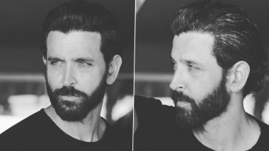 Hrithik Roshan Rules the Internet As He Shares Monochrome Pictures Flaunting His Rugged Look!