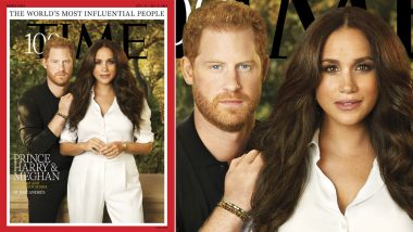 Prince Harry and Meghan Markle On TIME 100 Most Influential 2021 List; Royal Couple Graces Magazine Cover Together For The First Time (View Pics)