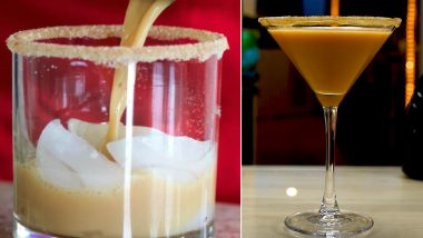 Pumpkin Spice Cocktail Recipes: From Pumpkin Spice Martini to Pumpkin Spice White Russian, 5 Tempting Drinks to Try for This Autumn Season!