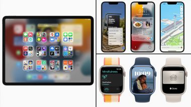 Apple iOS 15, iPadOS 15 & watchOS 8 Now Available