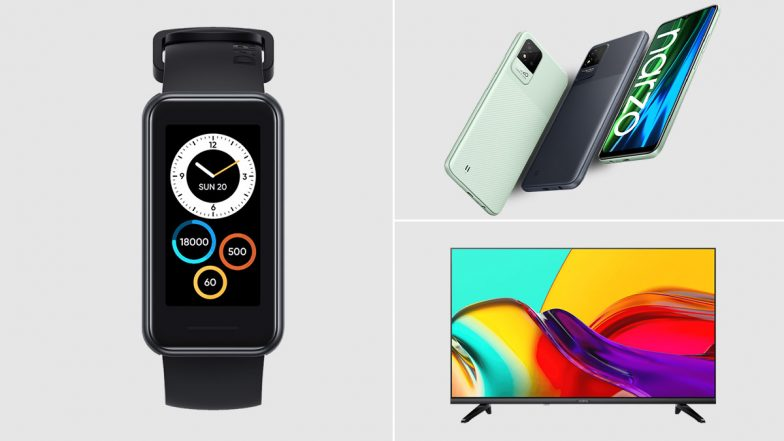 Realme Launches Narzo 50 Series, Realme Band 2 & Smart TV Neo 32-Inch in India; Check Prices & Other - LatestLY