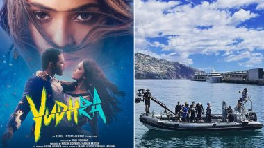 Yudhra: This BTS Picture From The Sets Of Siddhant Chaturvedi's Film Will Make You Feel More Excited for It's Release