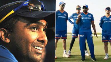 IPL 2021 Diaries: Coach Mahela Jayawardene Out of Quarantine in Abu Dhabi, Mentors Training Session for Mumbai Indians (Watch Video)
