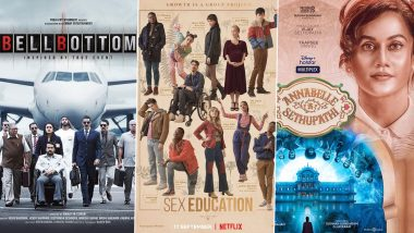 OTT Releases of The Week: Akshay Kumar's Bell Bottom on Amazon Prime Video, Asa Butterfield's Sex Education Season 3 on Netflix, Taapsee Pannu's Annabelle Sethupathi on Disney+ Hotstar and More