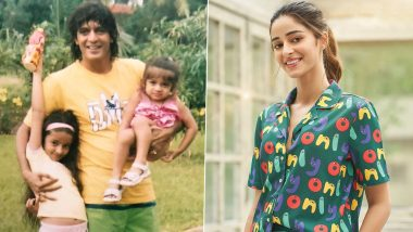 On Chunky Panday's 59th Birthday, Daughter Ananya Panday Shares Cool Throwback Pictures From Her Childhood Days!