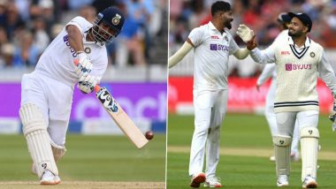 IND vs ENG 4th Test 2021: Nasser Hussain Says Rishabh Pant Showed He Is Capable of Batting in More Than One Style