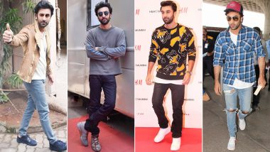 Ranbir Kapoor Birthday: Meet the Poster Boy of Casual Fashion