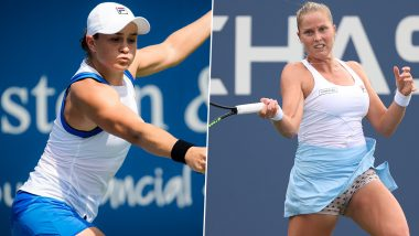 Ashleigh Barty vs Shelby Rogers US Open 2021 Live Streaming Online: How to Watch Free Live Telecast of Women's Singles Tennis Match in India?