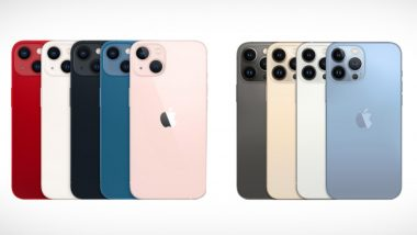 Apple iPhone 13 Series India Prices Announced; To Go on Sale From September 24, 2021