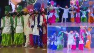 Punjab CM Charanjit Singh Channi Performs Bhangra at a Function in Kapurthala (Watch Video)
