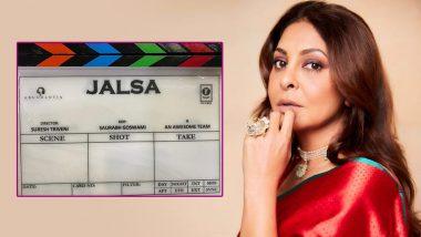 Jalsa: Shefali Shah Begins Shoot of Vidya Balan Starrer; Shares Still of Film's Script and Clapboard