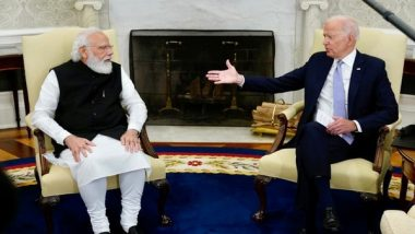 Joe Biden Jokes About His Possible India Connection in First Bilateral Meeting With PM Narendra Modi