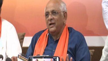 Gujarat CM-Elect Bhupendra Patel Thanks PM Narendra Modi, JP Nadda, Vijay Rupani for Reposing Faith in Him
