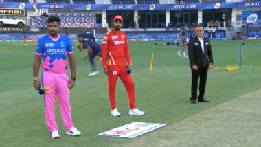 PBKS vs RR IPL 2021 Toss Report & Playing XI Update: Punjab Kings Opt to Bowl, Ishan Porel Makes Debut