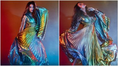 Yo or Hell No? Malaika Arora's Metallic Maxi Dress by Gemy Maalouf (Vote Now)