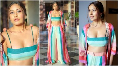Surbhi Chandna's Candy Coloured Co-Ord Set is a Must Have in Your Holiday Wardrobe (View Pics)